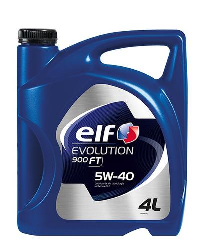 aceite de motor elf evolution 900 ft 5w-40 4l