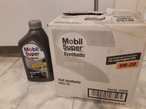 aceite de  motor mobil