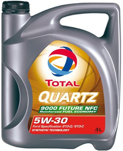 aceite de motor total quartz 9000 future nfc 5w-30 4l