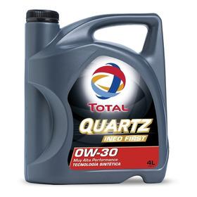 Aceite De Motor Total Quartz Ineo First 0w-30 4l.