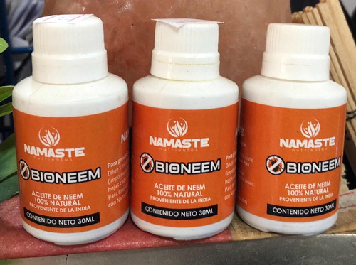 aceite de neem 100% natural