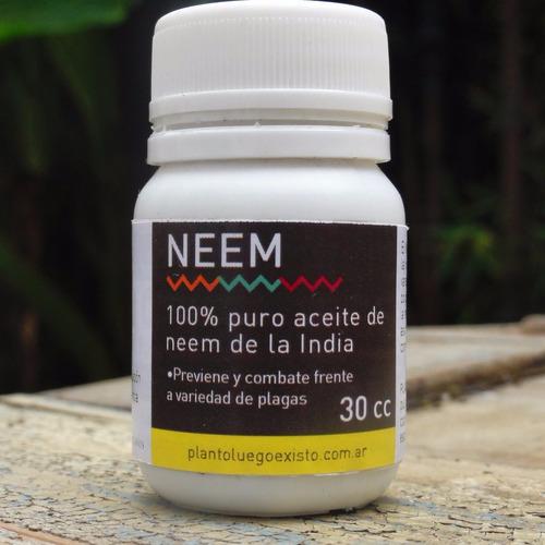 aceite de neem puro de la india 250cc