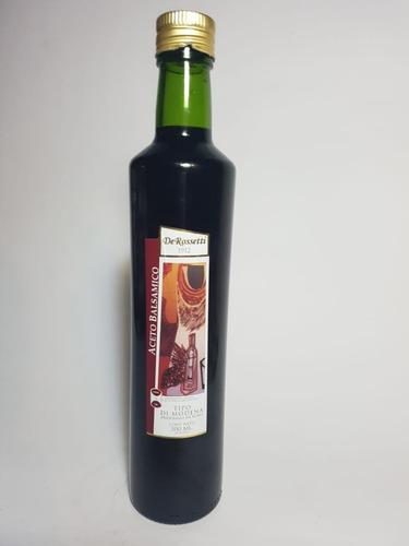aceite de oliva 500 ml + aceto 500ml,  rossetti
