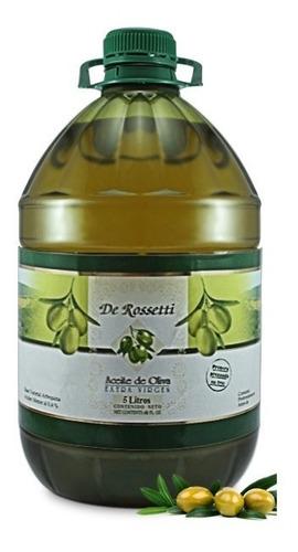 aceite de oliva bidón 5 lts - rossetti