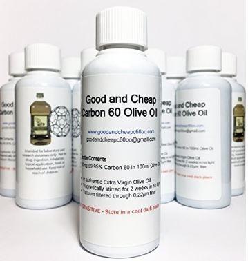 aceite de oliva con fullereno c60