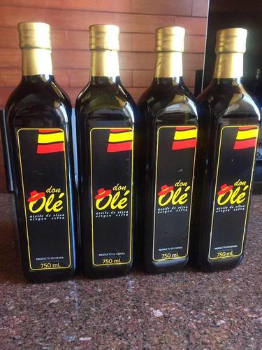 aceite de oliva don olé extra virgen de 750 ml