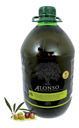 aceite de oliva extra virgen  alonso 5 litros