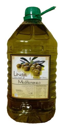 aceite de oliva extra virgen estilo mediterraneo 5 lts