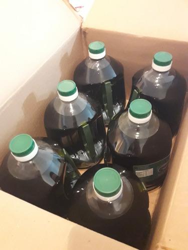 aceite de oliva extra virgen mendoza 6 botellas de 2 litros