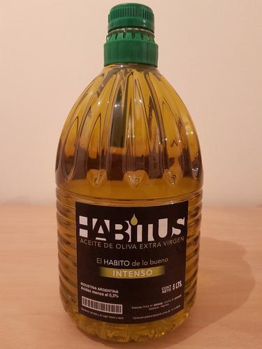 aceite de oliva extra virgen primera prensada en frío x 5 lt