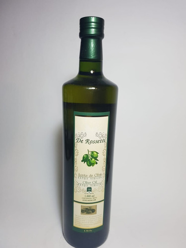 aceite de oliva extra virgen rossetti  1 litro