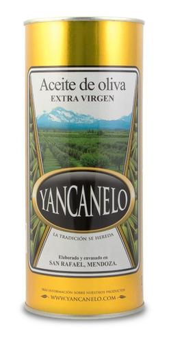 aceite de oliva extra virgen yancanelo lata 1 litro x 12 u