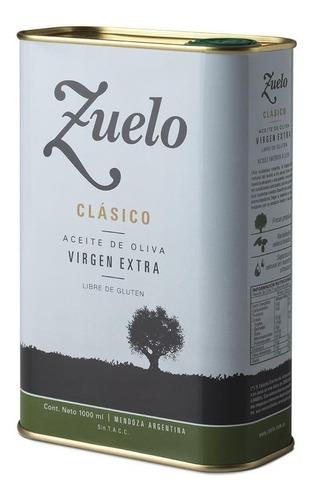 aceite de oliva extra virgen zuelo zuccardi lata 1 lt