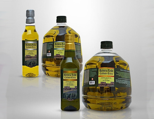aceite de oliva intenso sin tacc virgen 2 lts reino del leon