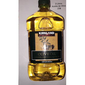 Aceite De Oliva Kirkland 3 Litros Preguntar Precio
