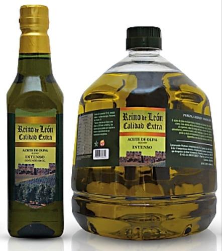 aceite de oliva premium mezcla, botella pet de 2 litros