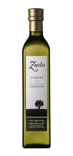 aceite de oliva zuelo clasico 500ml extra virgen sin taac