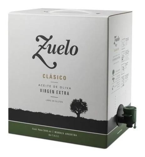 aceite de oliva zuelo clasico bag in box 5 litros zuccardi