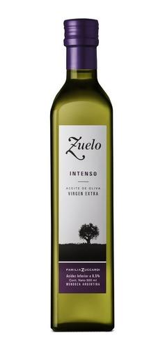 aceite de oliva zuelo intenso 500ml extra virgen sin taac