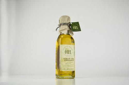 aceite de orégano gourmet ore 250 ml