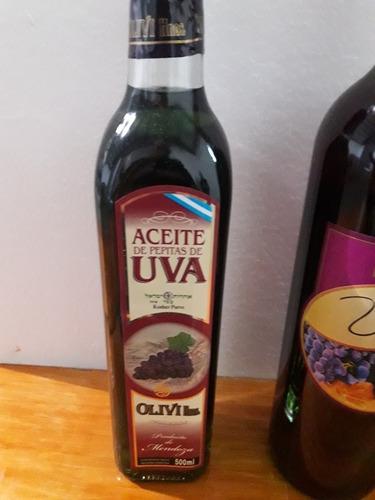 aceite de pepitas de uva  12 x 250 cm vidrio