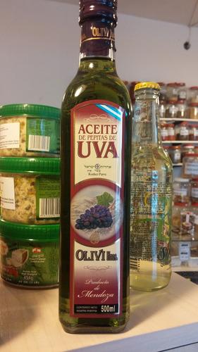 aceite de pepitas de uva, olivi hnos. 500 ml