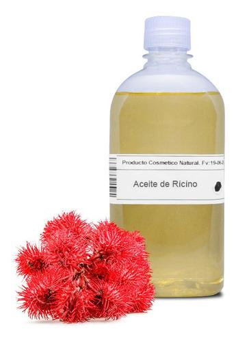 aceite de ricino 1 litro - fortalecedor pestañas - cabello