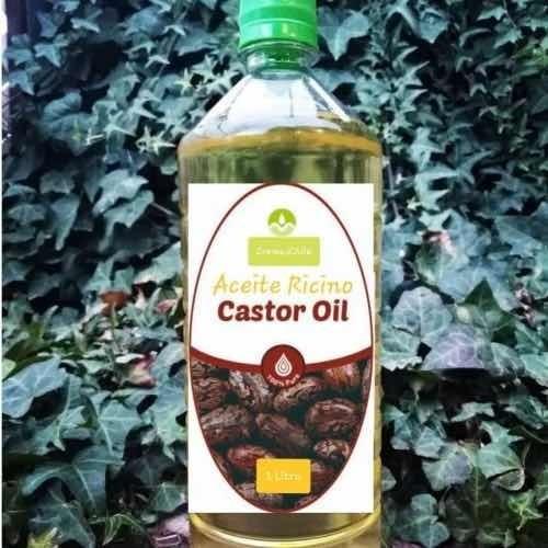 aceite de ricino formato 1 litro concentrado puro.