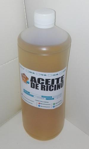 aceite de ricino x 1 lt - grado usp 100% puro