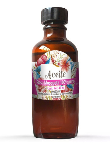 aceite de rosa mosqueta 40 ml 100% natural