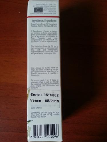 aceite de rosa mosqueta coesam (rosaterapia), 15 ml
