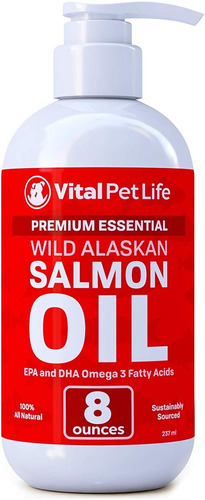 aceite de salmón para perros y gatos, aceite de pescado omeg