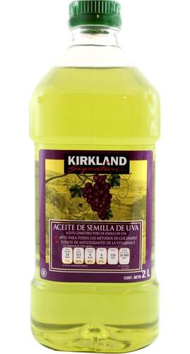 aceite de semilla de uva kirkland signature de 2 litros