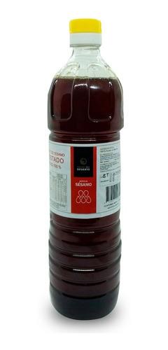 aceite de sésamo tostado natural 1 lt