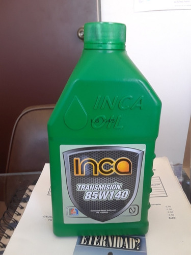 aceite de transmision 85w140 valvulina inca