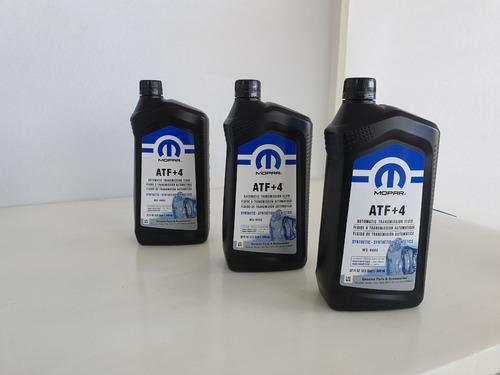 aceite de transmisión atf+4 paquete con 6 litros