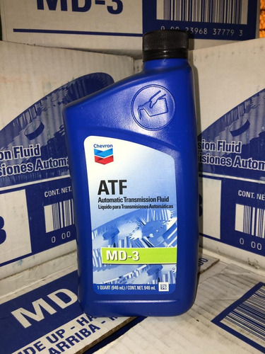 aceite de transmision automatica atf diii dexron 3 chevron