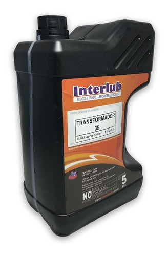 aceite dielectrico para transformador o llaves 5 litros