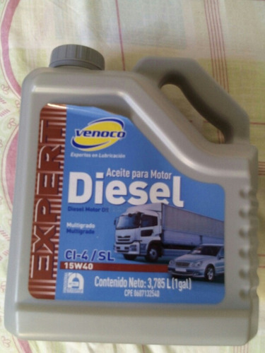 aceite diesel 15w40 venoco
