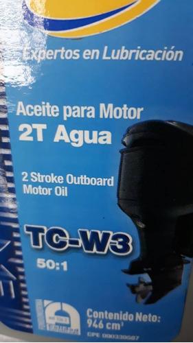 aceite dos tiempos (2t) agua tc-w3
