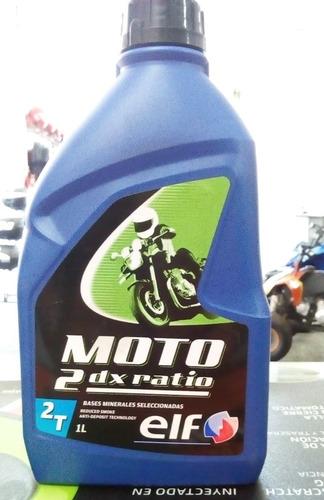aceite elf 2t 2dx ratio mineral 2x1_ estilo callejero.