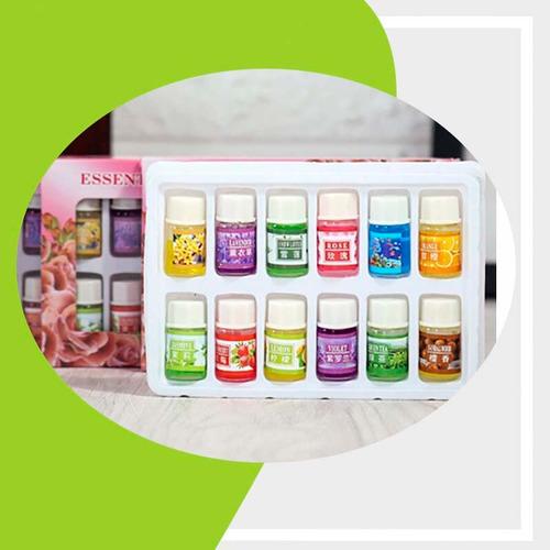aceite escencial caja 12 esencias humificador aromaterapia