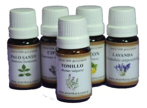 aceite esencial 100% natural-puro tomillo