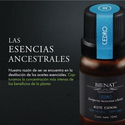aceite esencial de cedro 100% natural 100% puro