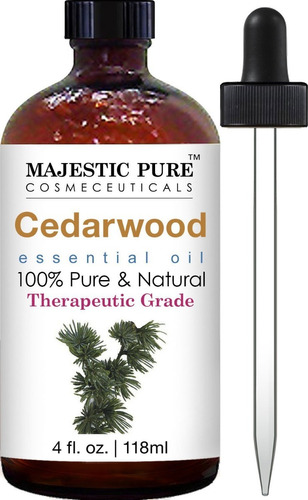 aceite esencial de cedro cedarwood 100 % puro natural 118 ml