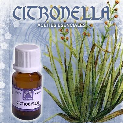aceite esencial de citronella - 10 cc.