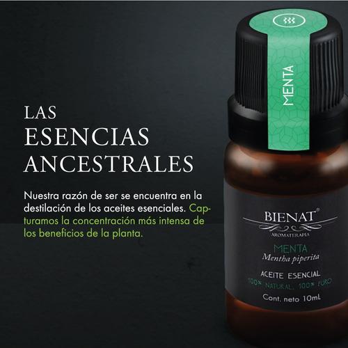 aceite esencial de menta 100% natural 100% puro