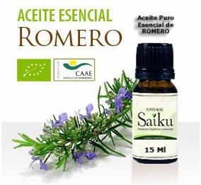 Aceite Esencial De Romero Puro Y Natural Envase De 15 Ml