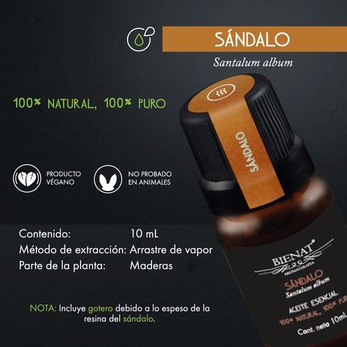 aceite esencial de sándalo100% natural 100% puro