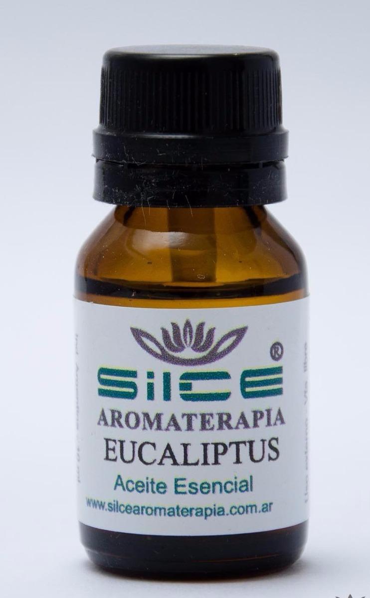 Aceite Esencial Eucaliptus Silce - Descongestiva Y Antiviral